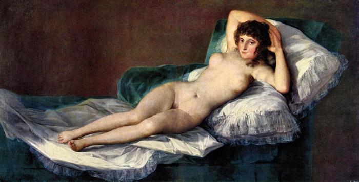 Meztelen Maja, Francisco José de Goya