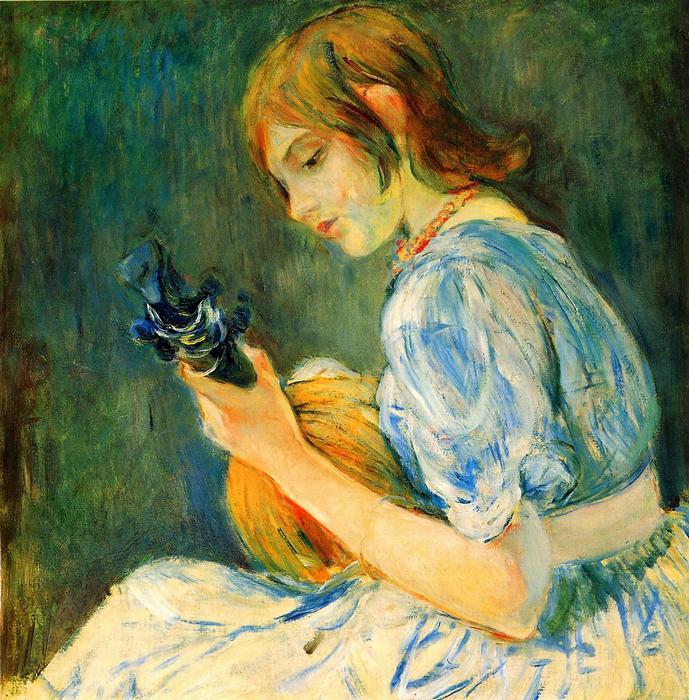 A mandolin, Berthe Morisot