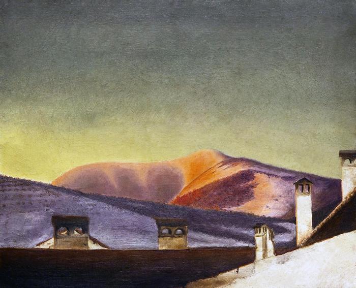 Dalmát hegy (színverzió 1), Csontváry Kosztka Tivadar