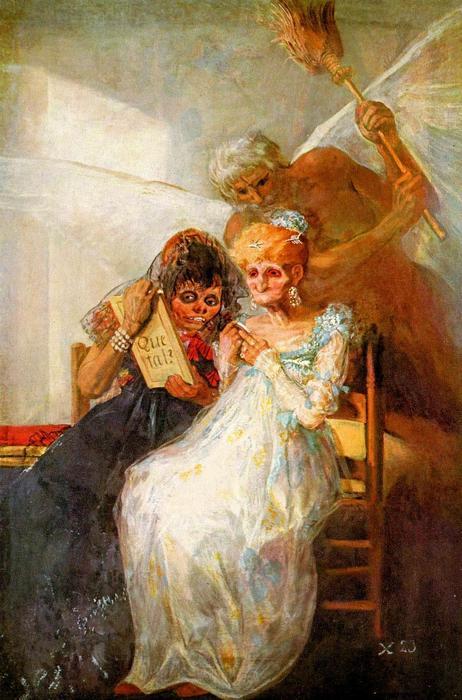Múlt és jelen, akkor és most, Francisco José de Goya