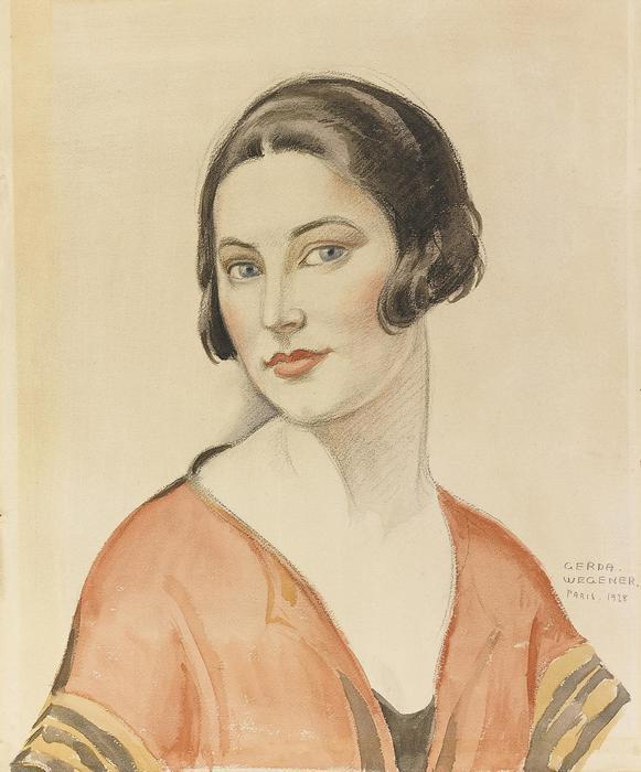 Női portré, Gerda Wegener