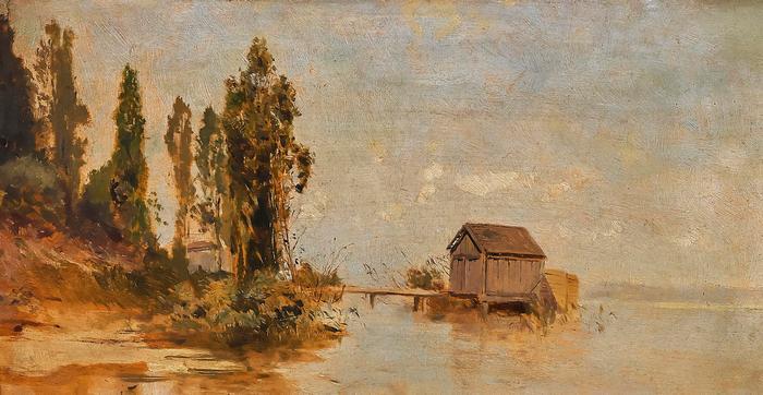 Fürdőház a Balatonon, Mészöly Géza