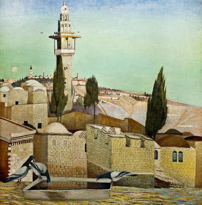 Az Olajfák hegye Jeruzsálemben, Csontváry Kosztka Tivadar