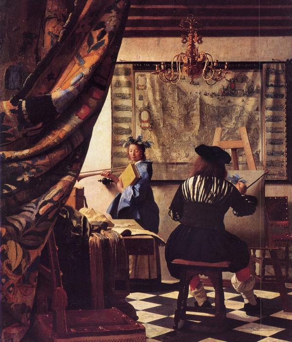 A festészet allegóriája, Jan Vermeer
