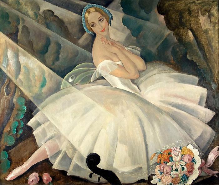 Ulla Poulsen portréja, Gerda Wegener