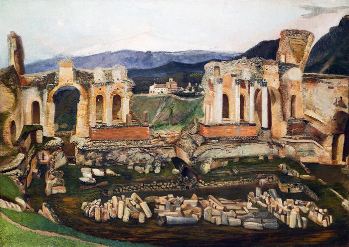 A kis Taormina (1904), Csontváry Kosztka Tivadar
