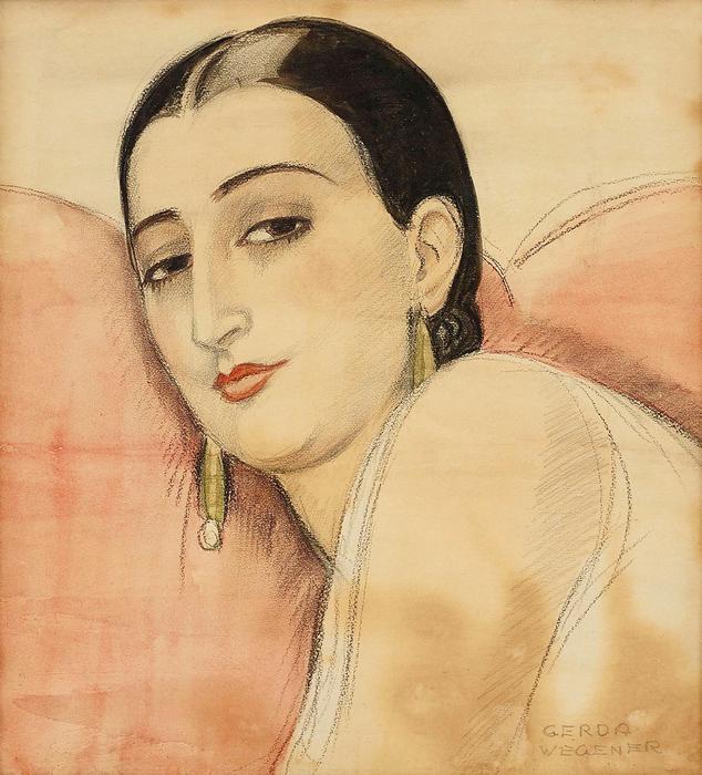 Spanyol hölgy portréja, Gerda Wegener