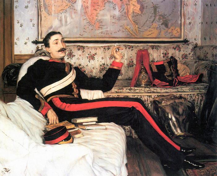 Frederick Gustavus Burnaby ezredes, James Tissot