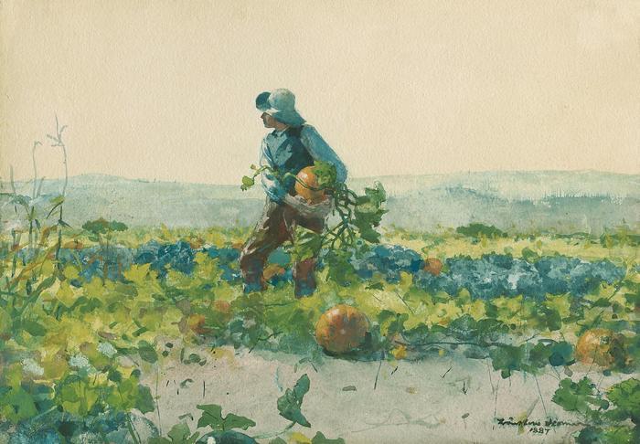 A farmer fia, 1887, Winslow Holmer